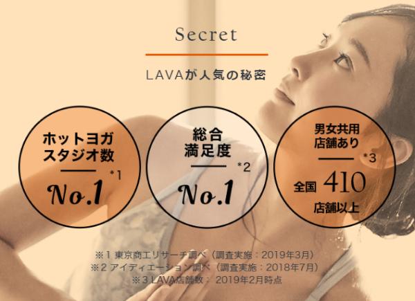 引用:LAVA公式サイト
